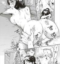 【エロ漫画】エレベーターの中で彼女のおっぱい鷲掴みする彼氏…発情した彼氏の部屋でイチャラブセックス生挿入中出しwww【雛原えみ:ふたごもり】