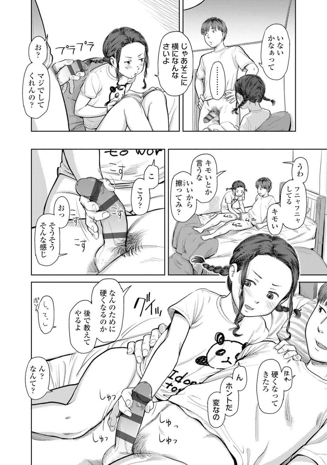 【エロ漫画】実の兄の事を誘惑する貧乳な妹…シスコンですっかりその気になった彼は彼女に乳首責めや手マンなどをした後、正常位で生挿入の近親相姦をしてしまう!【鬼束直:妹がおかしい…いつもだけど】